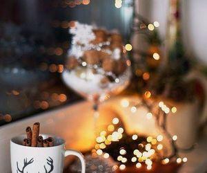 christmas, lights, and santa claus image