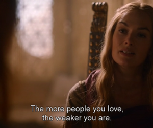 love, quotes, and game of thrones image