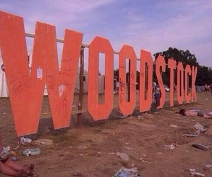 woodstock, music, and festival image