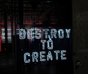 destroy, quotes, and create image