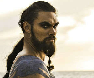 game of thrones, khal drogo, and got image