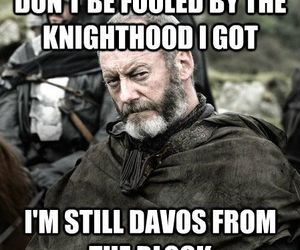 got, davos, and game of thrones image