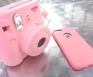 baby pink, pastel pink, and iphone image