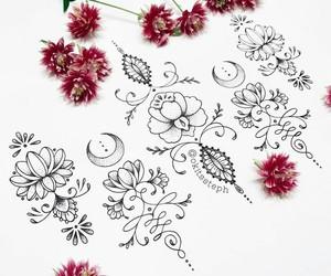 mandala, tatuagens, and Desenhos image