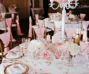 fairytale, gold, and pink image