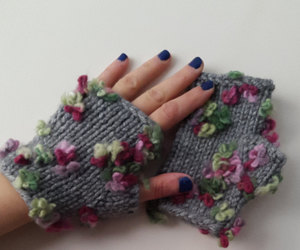 arm warmers, hand warmers, and winter gloves image