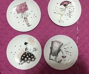 dish, girly, and pla image