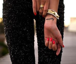 fashion, tattoo, and nails image