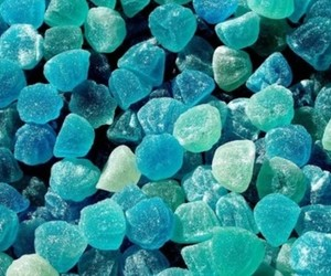 blue, candy, and books image