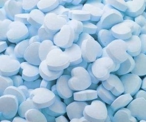 aesthetic, blue, and sweets image