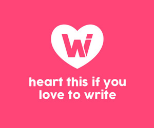 heart, we heart it, and writing image