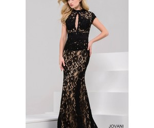 dresses, long, and evening image
