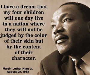 I have a dream, martin luther king, and MLK image