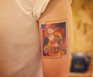 picasso and tattoo image