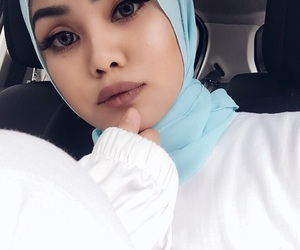 aesthetic, asian, and baby blue image