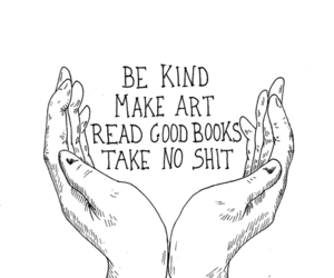 quotes, art, and books image