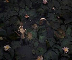 dark, water, and theme image