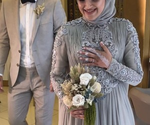 couple, helal, and grey image