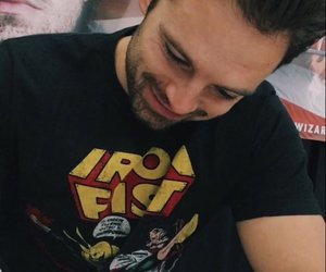 sebastian stan, bucky, and winter soldier image