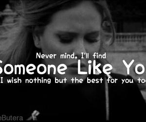 21, Adele, and Lyrics image