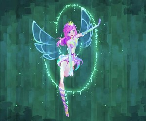 winx club, tecna, and art image