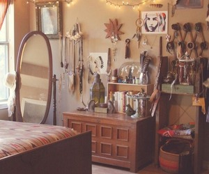 boho, bedroom, and bohemian image