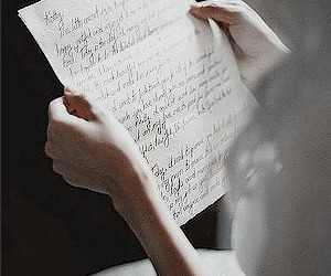 Letter, vintage, and aesthetic image