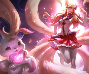 ahri, ahri lol, and league of legends image