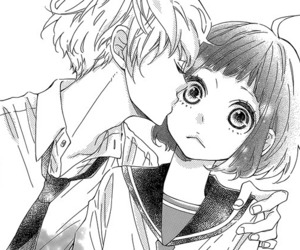 manga, kiss, and cute image
