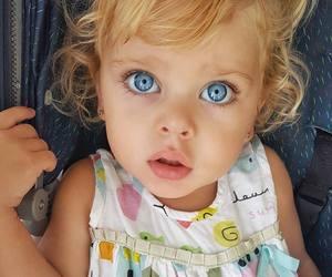 baby, blue eyes, and eyes image