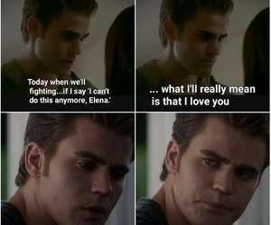 always, why, and stefan and elena image