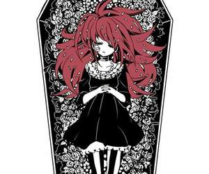 anime, girl, and death image