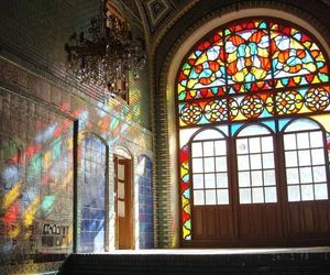 architeture and vitral image