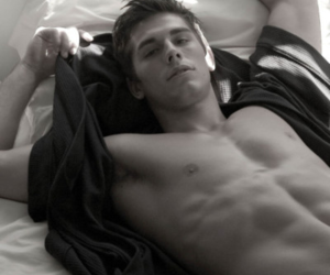 abs, cute boy, and Hot image