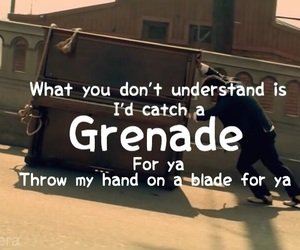 crush, Grenade, and love song image