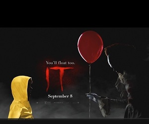 clown, Stephen King, and it movie image