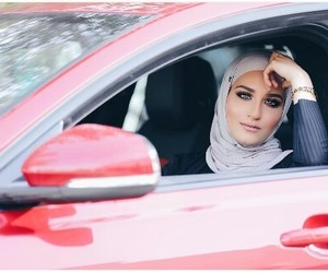 beauty, Dubai, and fashion image