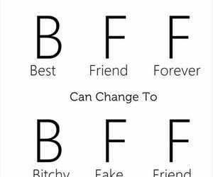 fake, friendship, and friends image