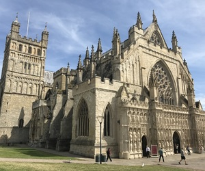 cathedrals and exeter image