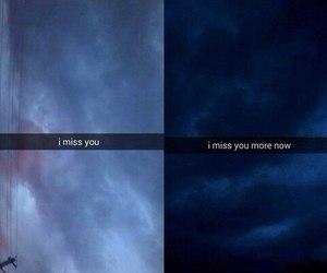 miss, sad, and night image