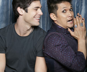 maleç, shadowhunters, and harry shum jr image