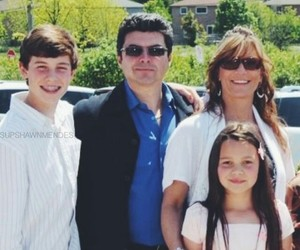 shawn mendes, magcon, and family image