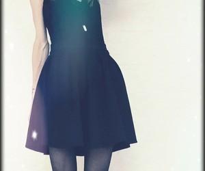 alternative, black lace, and summer fashion image
