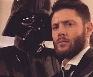 Jensen Ackles, supernatural, and darth vader image