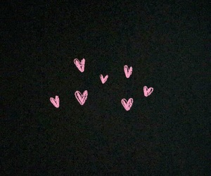 background, 💗, and hearts image