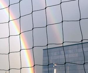 beauty and rainbow image