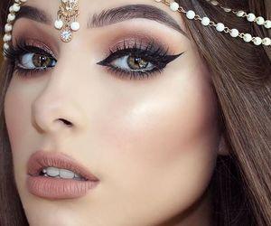 girl, makeup, and make up image
