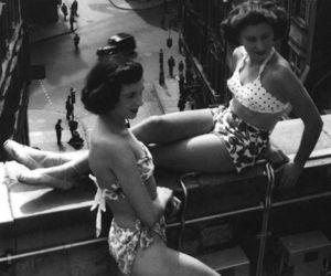 50s, bikini, and vintage image