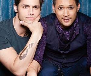 maleç, shadowhunters, and alec lightwood image