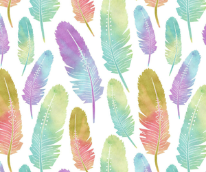 background, feathers, and pattern image